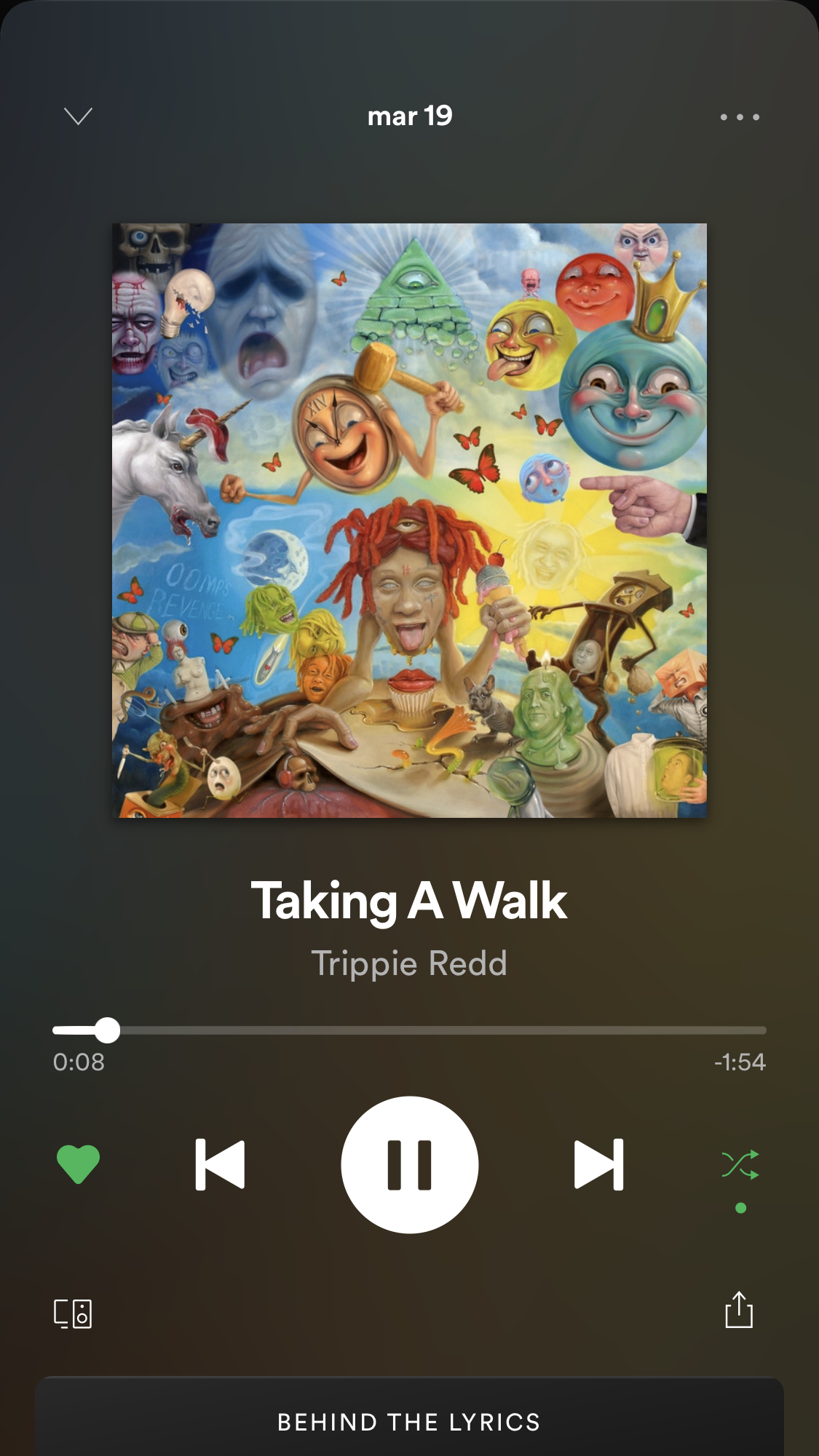 Taking A Walk Trippie Redd