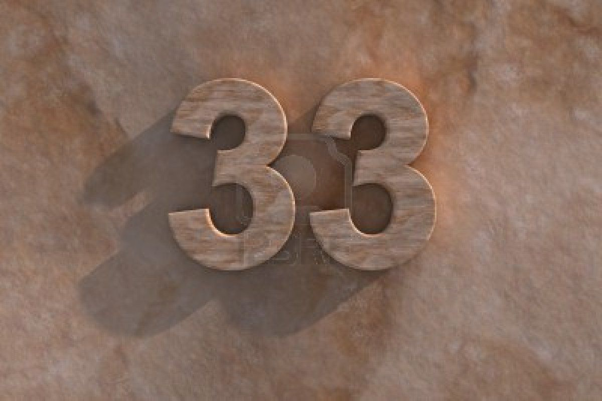 the number 33