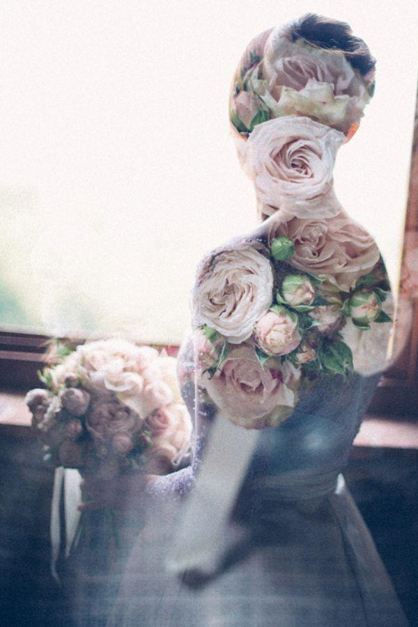 Rosebud Bride Double Exposure   Lelia Scarfiotti Photography   Enchanting Italian Destination Wedding at a Tuscan Villa