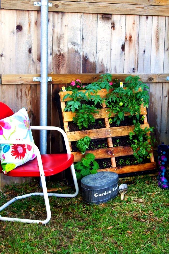 1001 Idees Pour Amenager Un Jardin Ou Potager Vertical