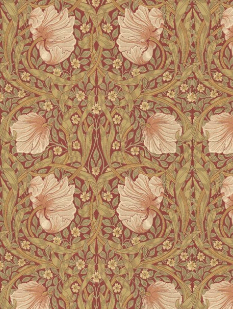 Pimpernel Wallpaper By Morris and Co 210386 in 2020