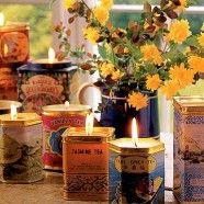 Quick Tea Tin Candles