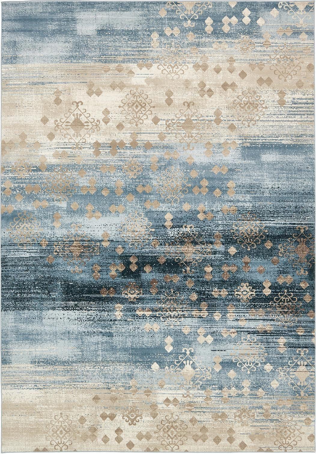 Dark Blue 8 39 X 11 39 2 Mirage Rug Area Rugs Esalerugs Carpets Area Rugs Textured Carpet Rugs On Carpet