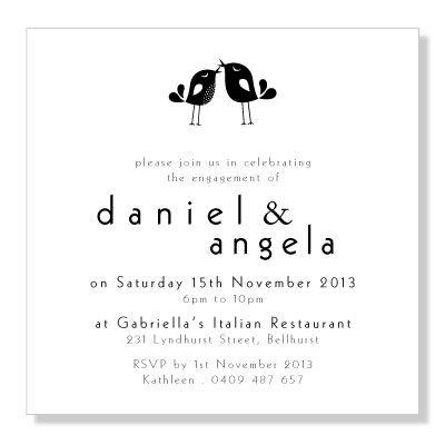 Engagement invitations Engagement, Weddings and Wedding - fresh invitation samples template