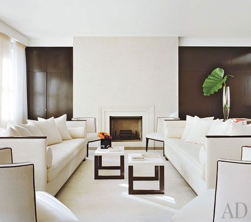 We Are Inspired By The Minimalist Style Of Jennifer Post. From  Architectural Digest. White Living RoomsHome ...