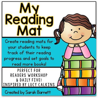My Reading Mat - For Reader's Workshop! | Readers workshop, Lucy ...