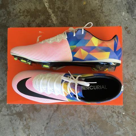 84404e3173b4 Custom Nike Mercurial Soccer Cleats - Hand Painted