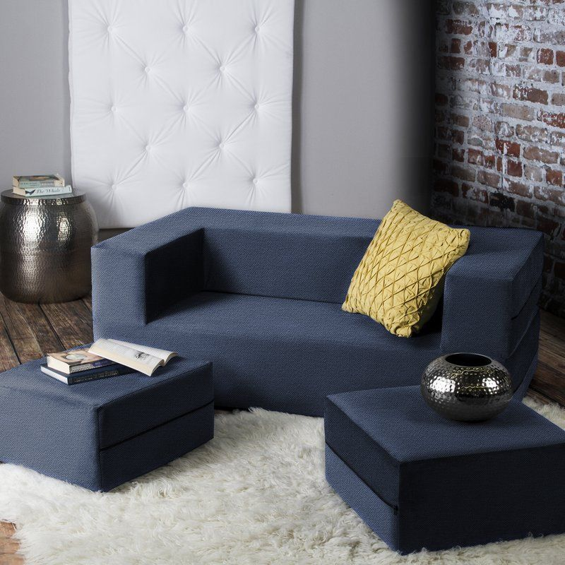 """Eugene 61"""" Square Arm Sofa Bed (With images) Best"""