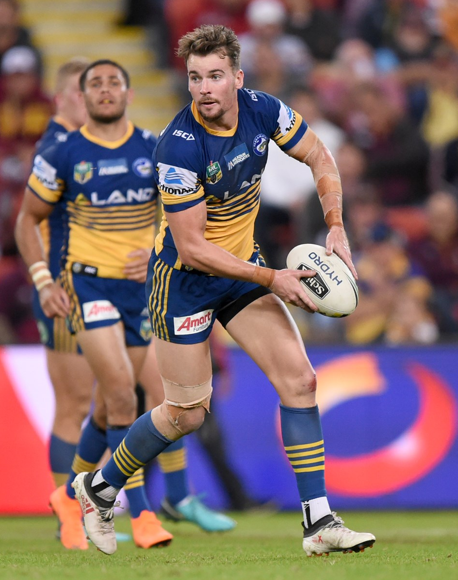 Footy Players Clint Gutherson Of The Parramatta Eels Footy Rugby League Rugby Players