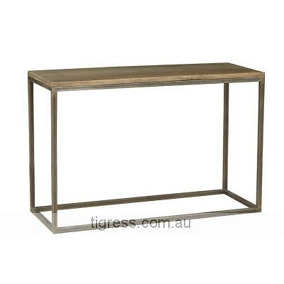 Solid Hardwood And Metal Hall Table Tables Gumtree Australia The Hills District Baulkham Hills 1055586522 269