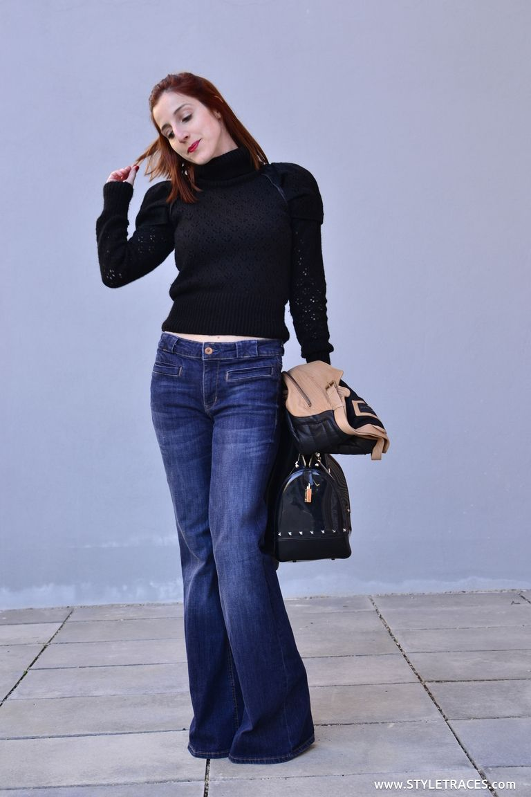 STYLETRACES-leather+knit+and+jeans-06.JPG 768×1,152 pixels