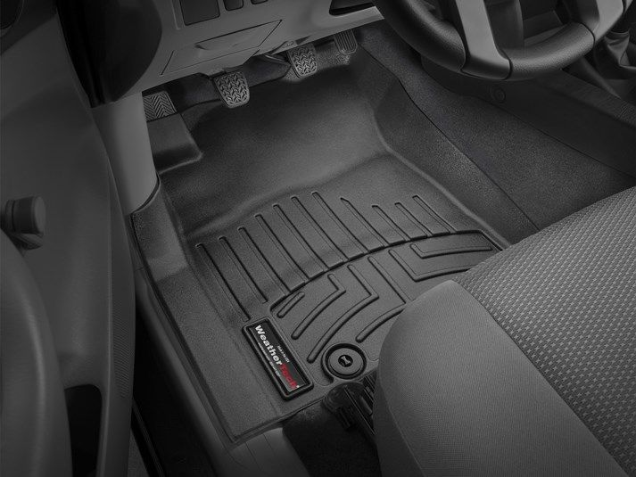 2013 Toyota Tacoma Weathertech Floorliner Custom Fit Car Floor Protection From Mud Water Sand And Salt Weatherte Toyota Tacoma 2015 Toyota Tacoma Toyota