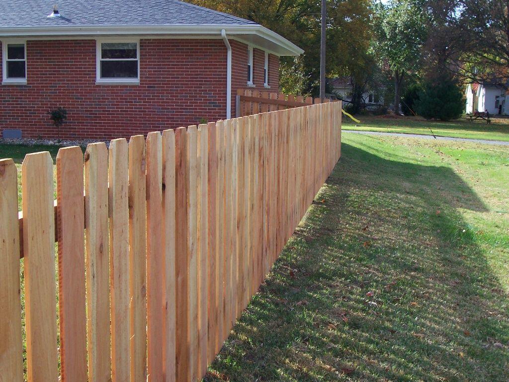 3 Foot Ceder Picket Fence Wood Fence Cedar Wood Fence Wood