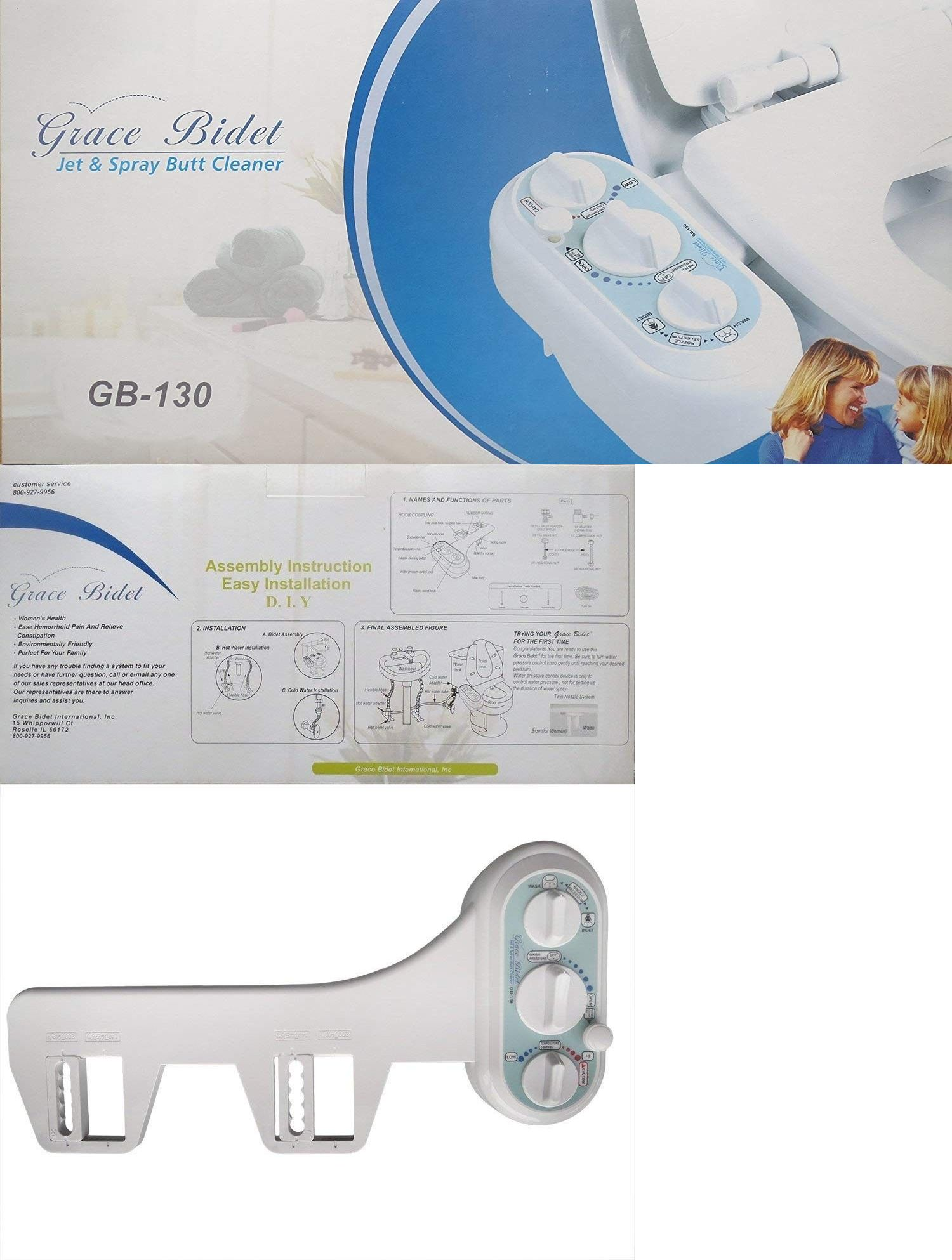 Bidets And Toilet Attachments 101405 New Grace Bidet Gb 130 Self