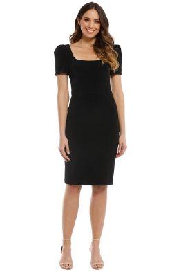 Rebecca Vallance - Ivy Dress - Black - Front  935aa6509