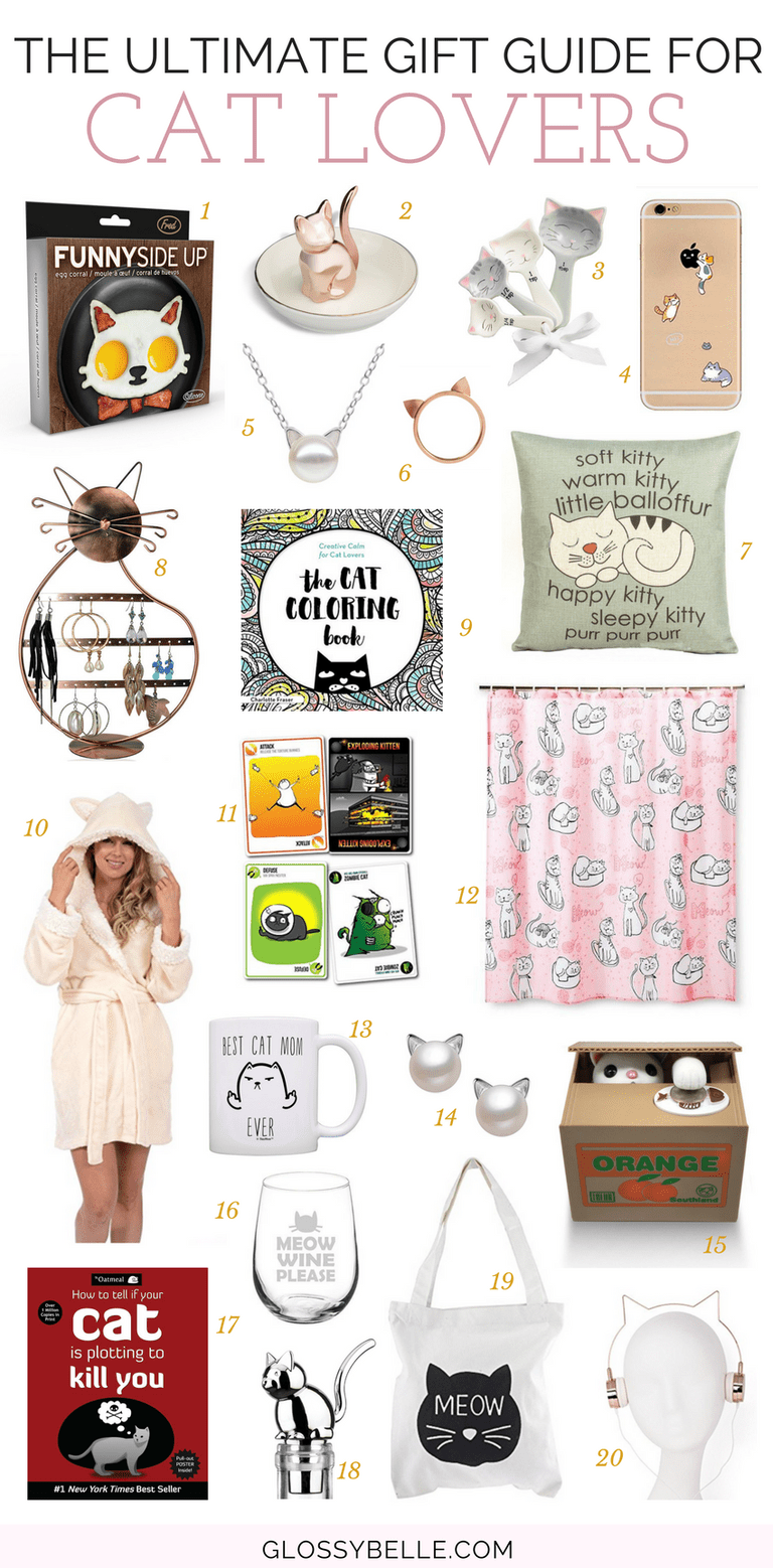 32 Christmas Gifts For Cat Lovers – Glossy Belle