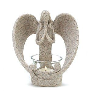 Amazon.com: Gifts & Decor Desert Angel Tea Light Candleholder Decorative Gift: Home & Kitchen