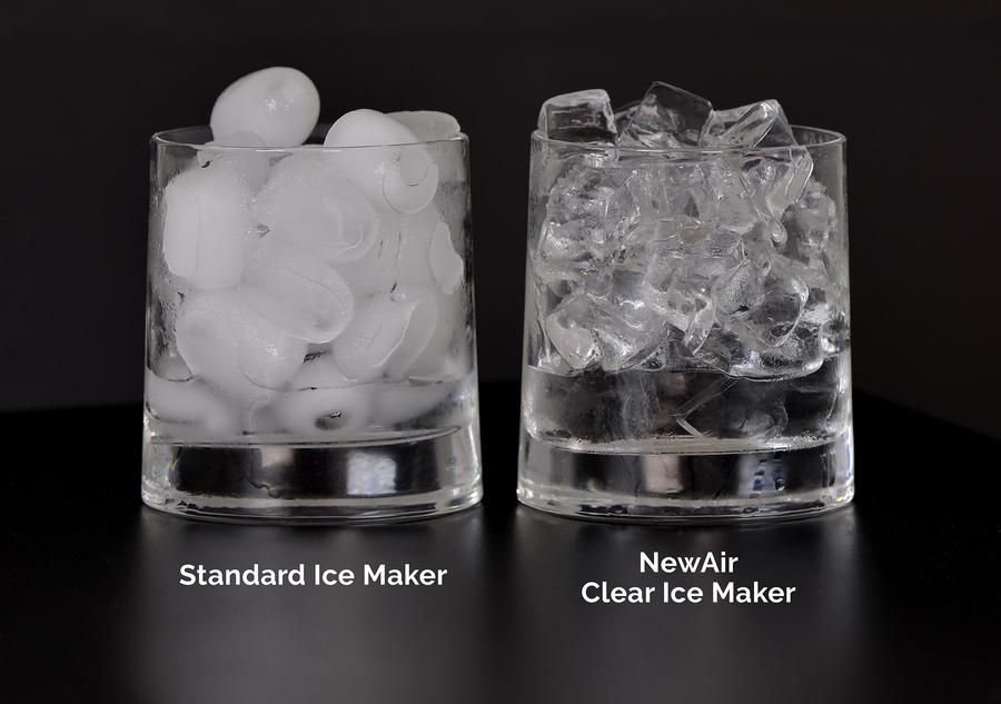 Newair Countertop Clear Ice Maker 40 Lbs Of Ice A Day Portable