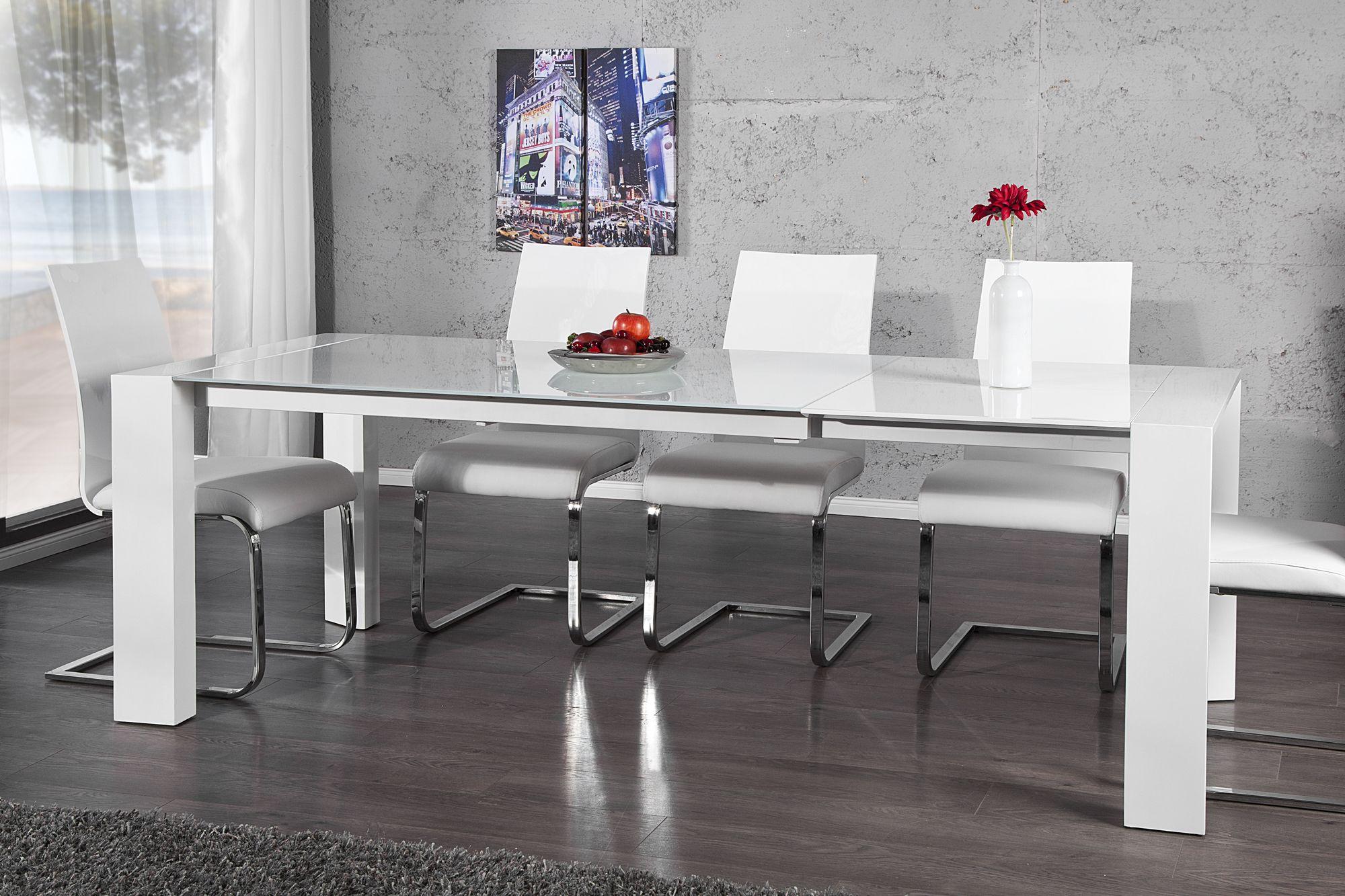 der beeindruckende esstisch expanda besticht durch seine. Black Bedroom Furniture Sets. Home Design Ideas