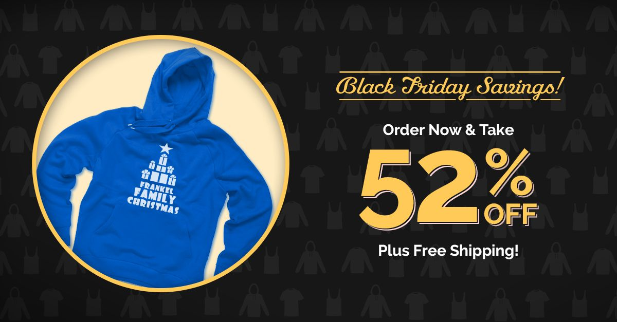 Black Friday Blowout! 52% off sitewide, $10 white budget tee, plus FREE standard shipping (exclusions apply). Hurry, #sale ends 11/29. Get started here: http://www.alliedshirts.com/?utm_campaign=TWAS52BFCM15&pcode=6B453037446D51506D536D524B4277416F70666B2F513D3D