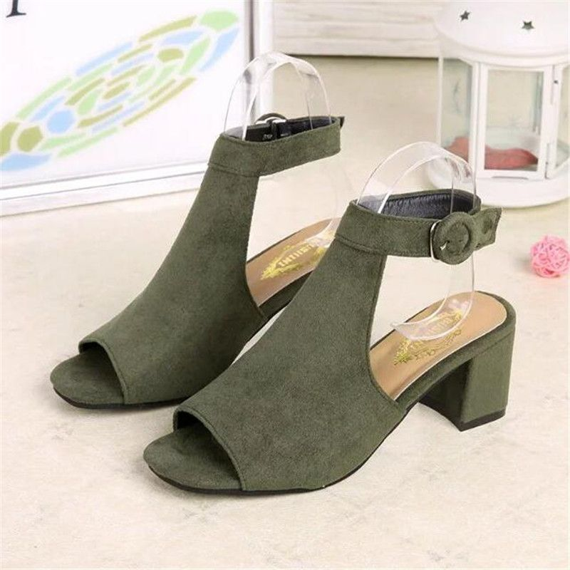 discount details for best prices Broad Cover Heel Sandals | Heels, Sandals, Fashion