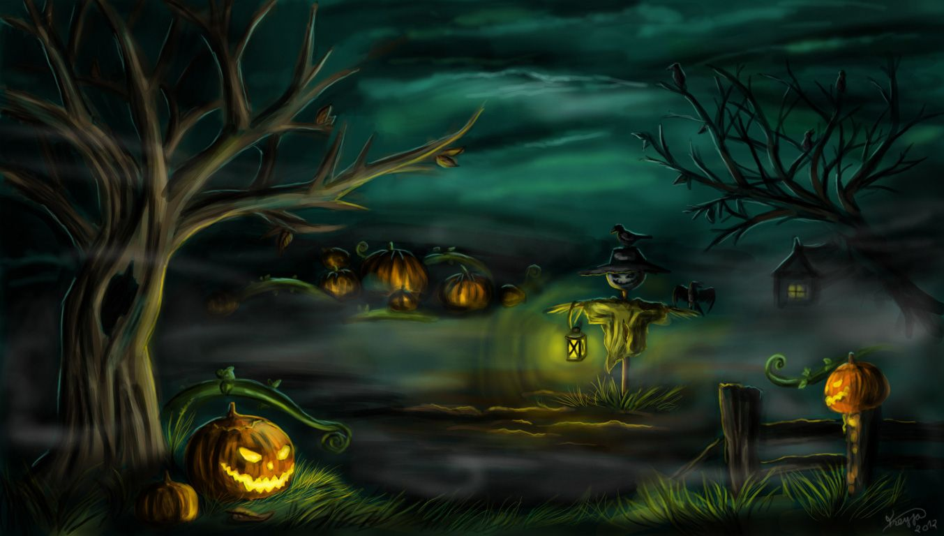 Free Halloween 2013 Backgrounds Wallpapers With Images Scary