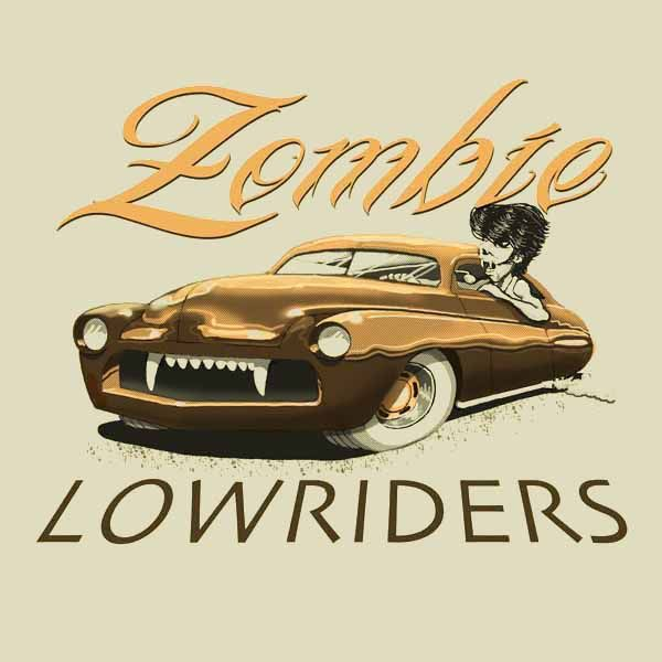 car club logo Zombie Lowriders