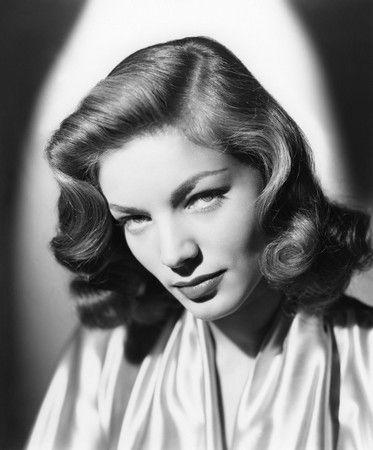 Forties Era Hairstyles Lauren Bacall Vintage Hairstyles Medium Length Hair Styles