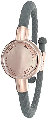 Michael Kors Access Activity Tracker Crosby Grey Silicone Rose Gold Bracelet Activity Bracelets Activity Tracker Bracelet Rose Gold Bracelet