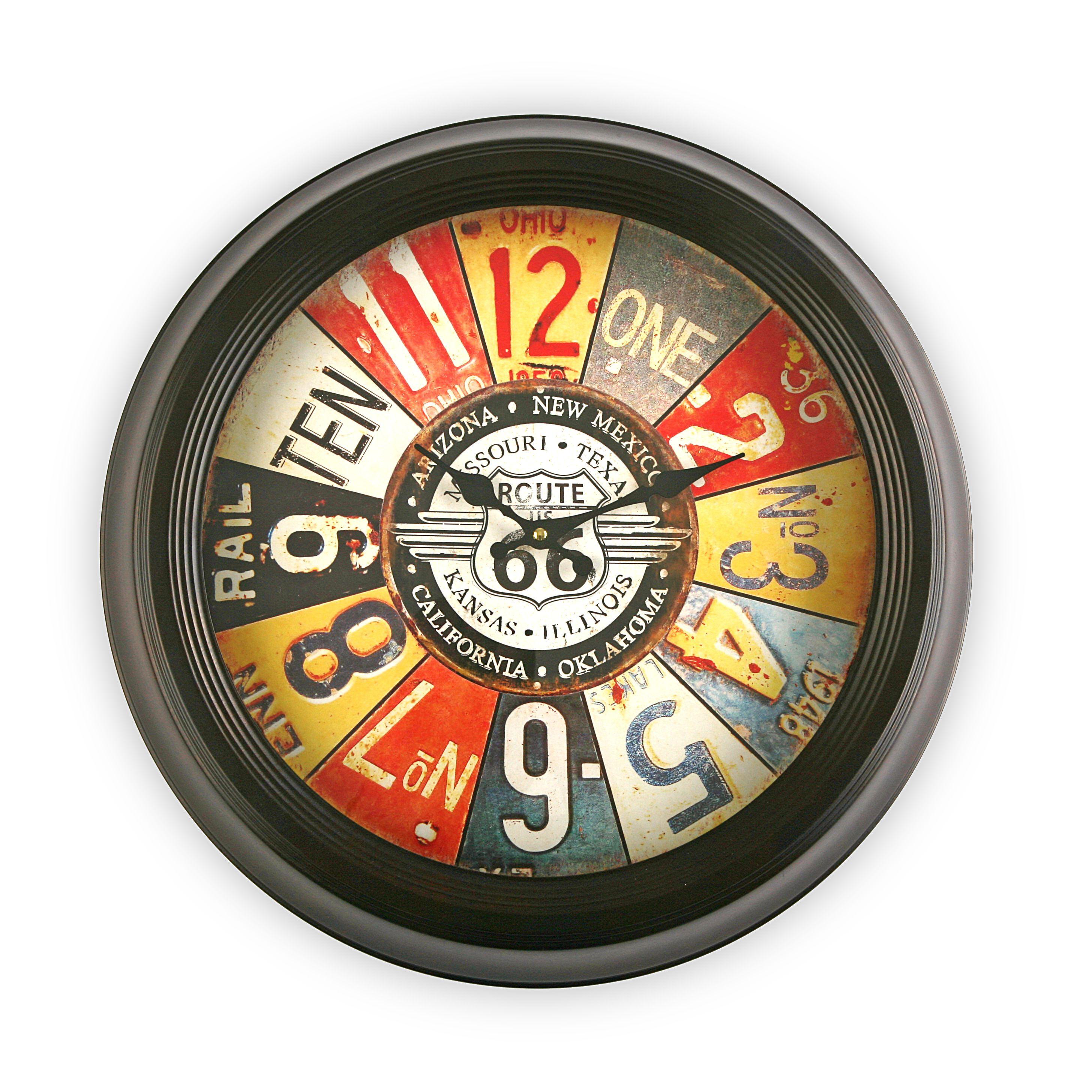 Reloj De Pared Vintage Reloj Vintage Casa Versa Vintage  ~ Relojes Grandes De Pared Vintage