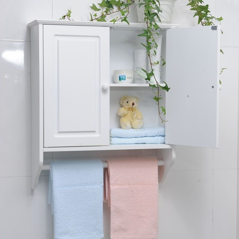 Great Cheap Bathroom Wall Cabinet With Towel Bar