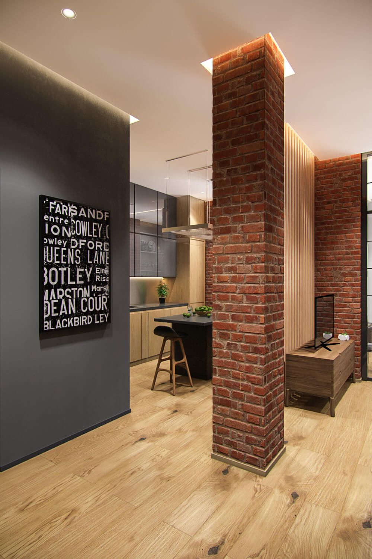 Gut Наши проекты   Квартира для молодой семьи в стиле лофт Доброго дня, друзья!  Продолжаем