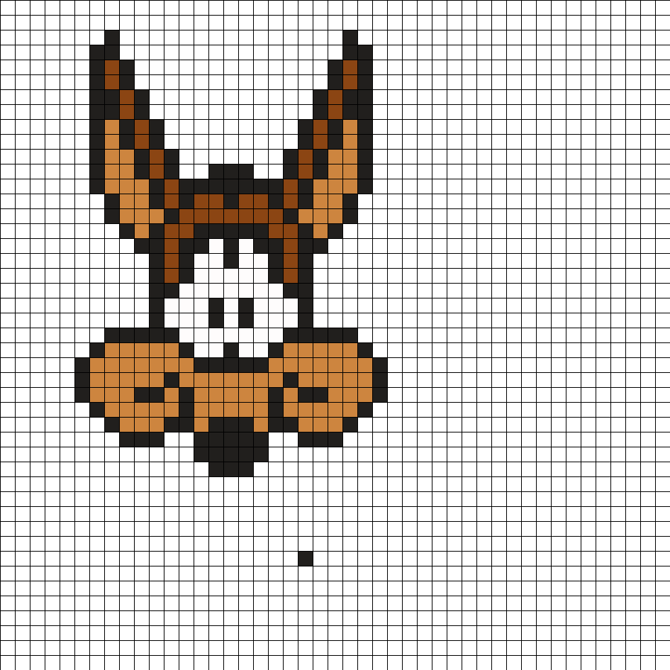 Wile E. Coyote Perler Bead Pattern | 1 class drawing: cross stitch ...