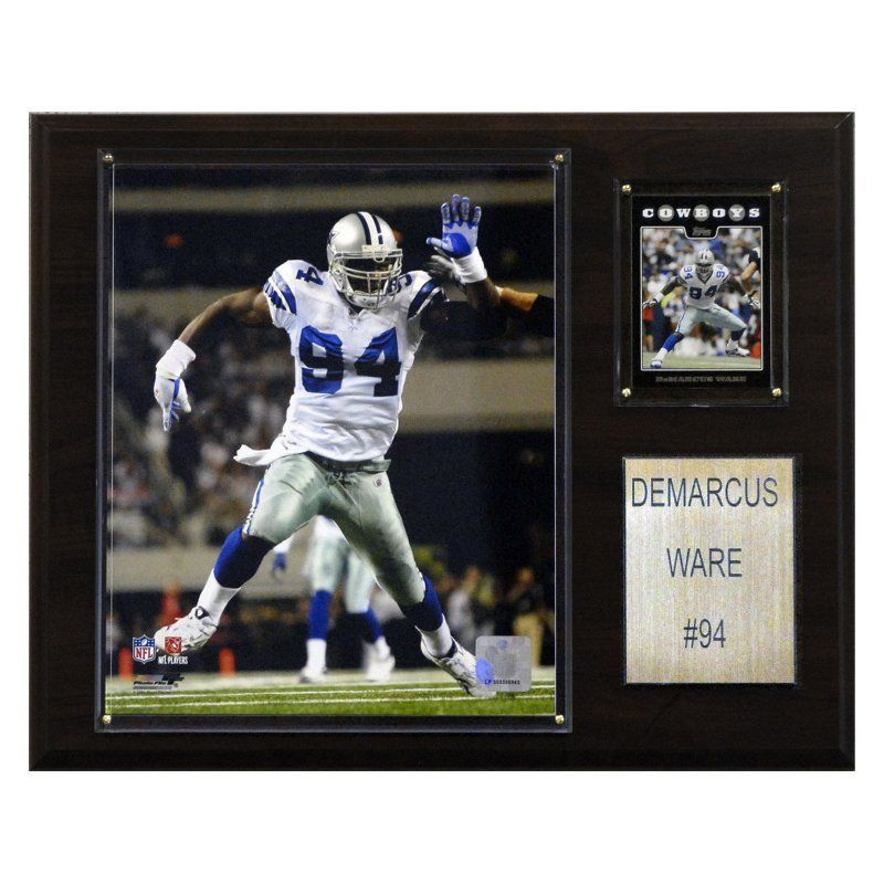 NFL 12 x 15 in. DeMarcus Ware Dallas Cowboys Player Plaque - 1215DWARE