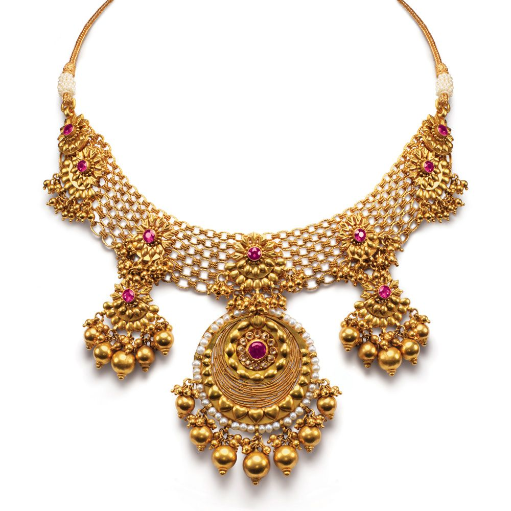 Simple necklace designs in gold for the love of jewels for Simple gold ornaments