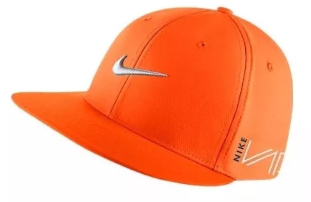 1d13e9aa Nike UltraLight Tour RZN/VAPOR Adjustable Total Orange/Silver Hat/Cap #Nike