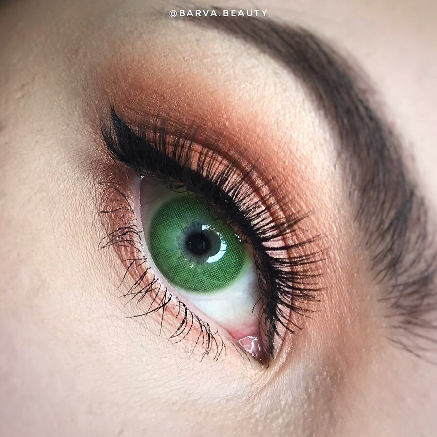 Super Natural Green Colored Contact Lenses in 2020
