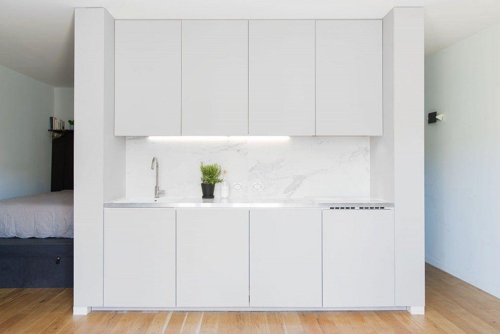 Rénovation d'un appartement de 33 m2 à Lyon par l'Atelier DITO ...