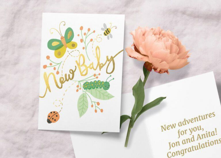 Best baby shower card messages wishes baby shower card