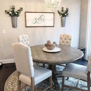 Linden Round Pedestal Dining Table
