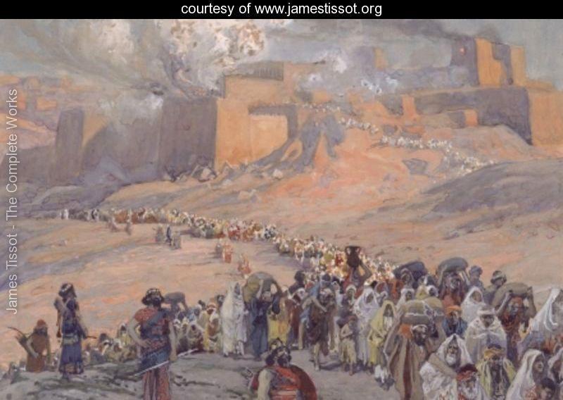 The Flight of the Prisoners - James Jacques Joseph Tissot - www.jamestissot.org
