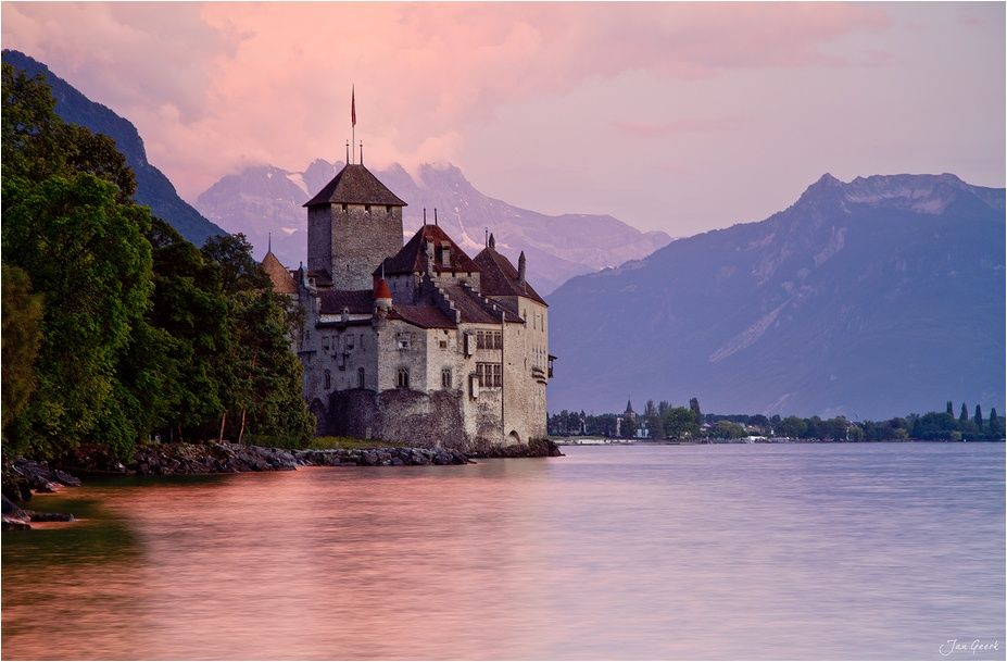 Chateau Chillon III by Jan Geerk on 500px