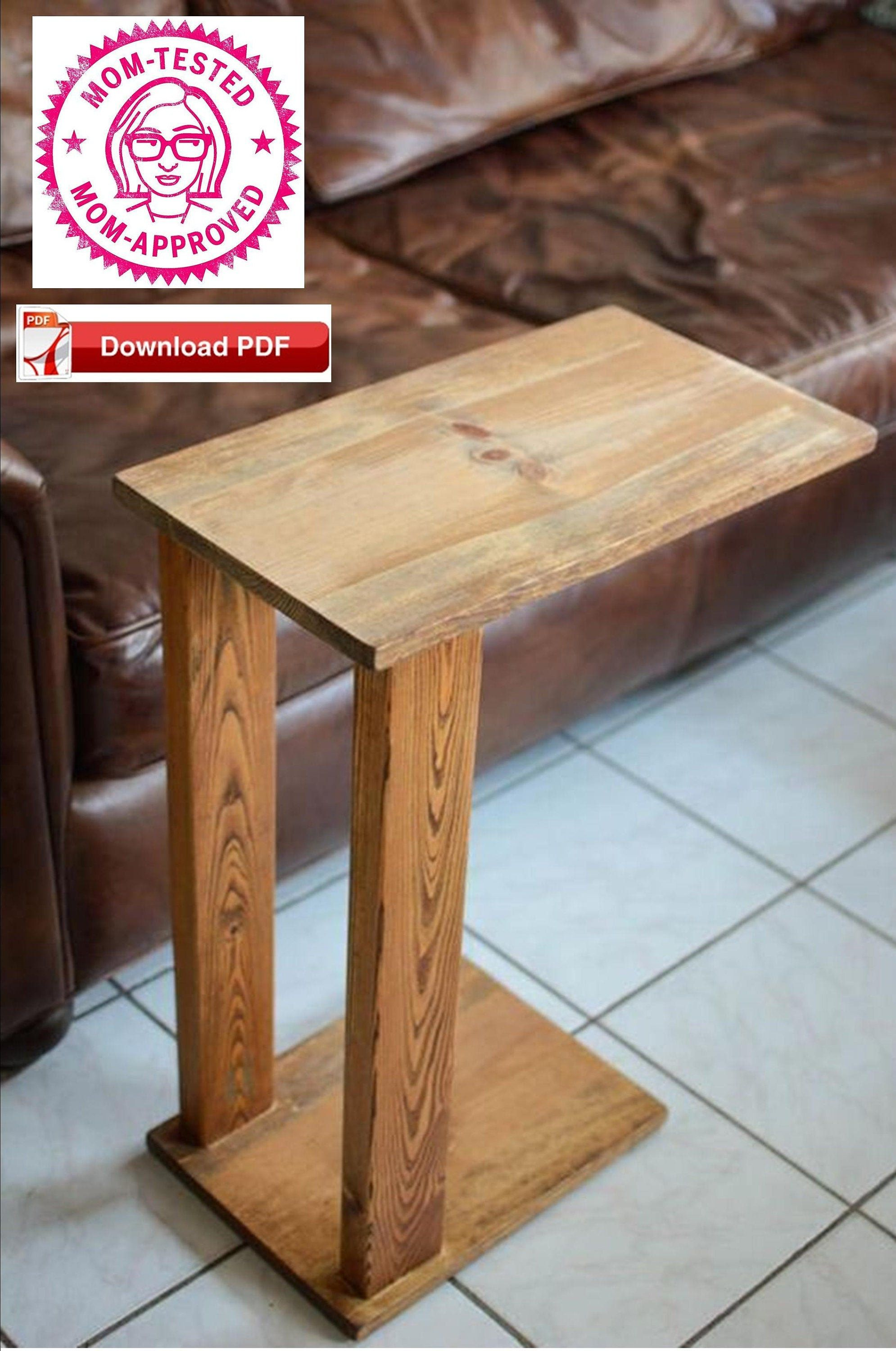 Sofa Stand Plan End Table Plan Rustic Table Plan Tv Stand Plan
