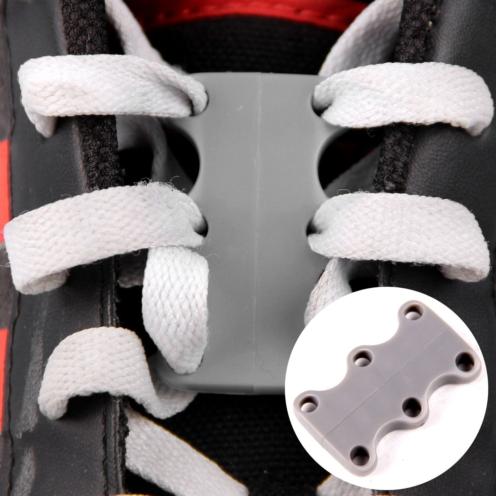 Fast Easy Bind Magnetic No-tie Shoelaces Closures Pair