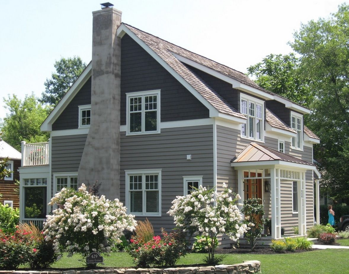 Two tone siding house ideas google search exteriors for Exterior siding design ideas
