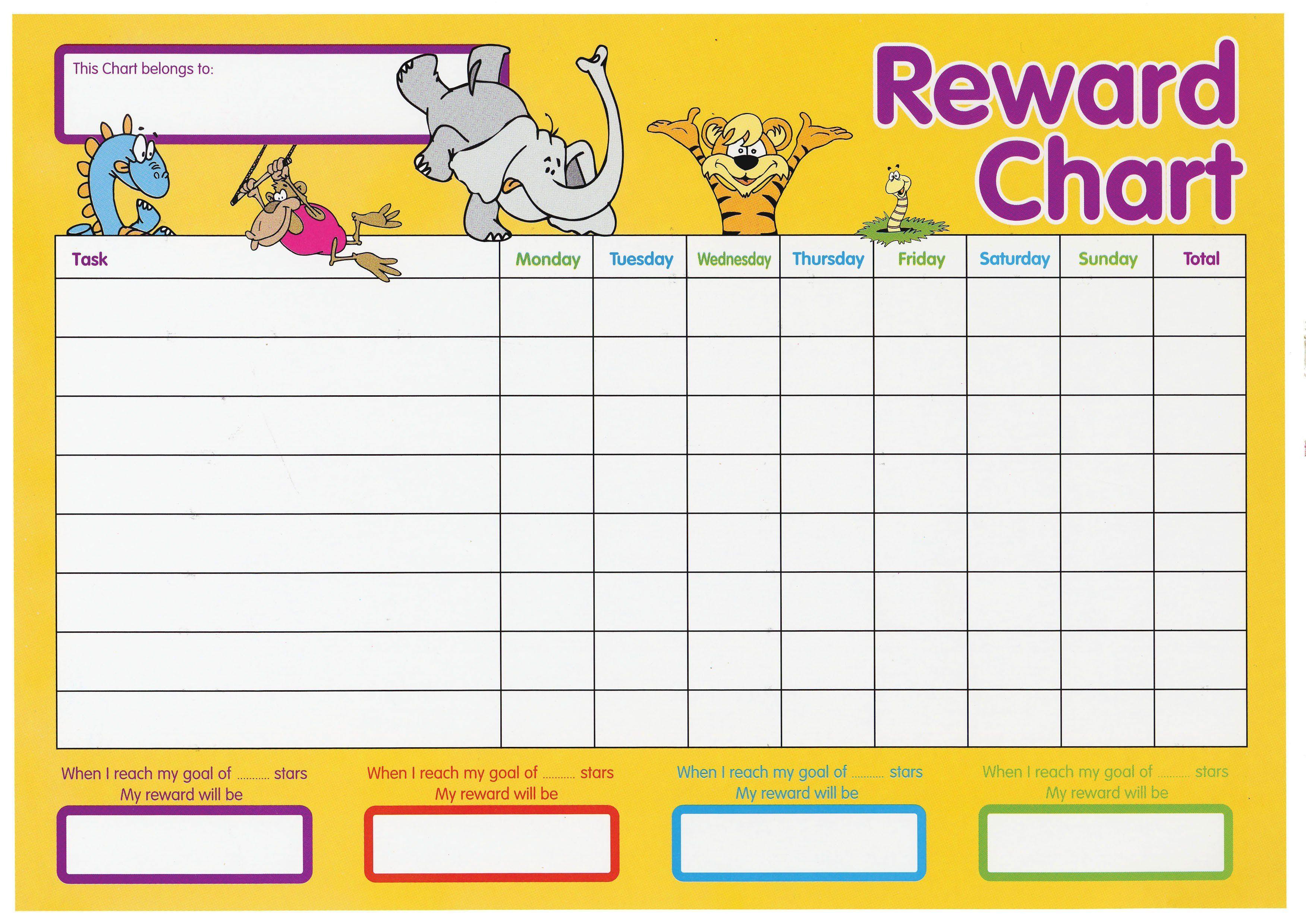 Behavior Sticker Chart Template Fresh 11 Reward Charts For