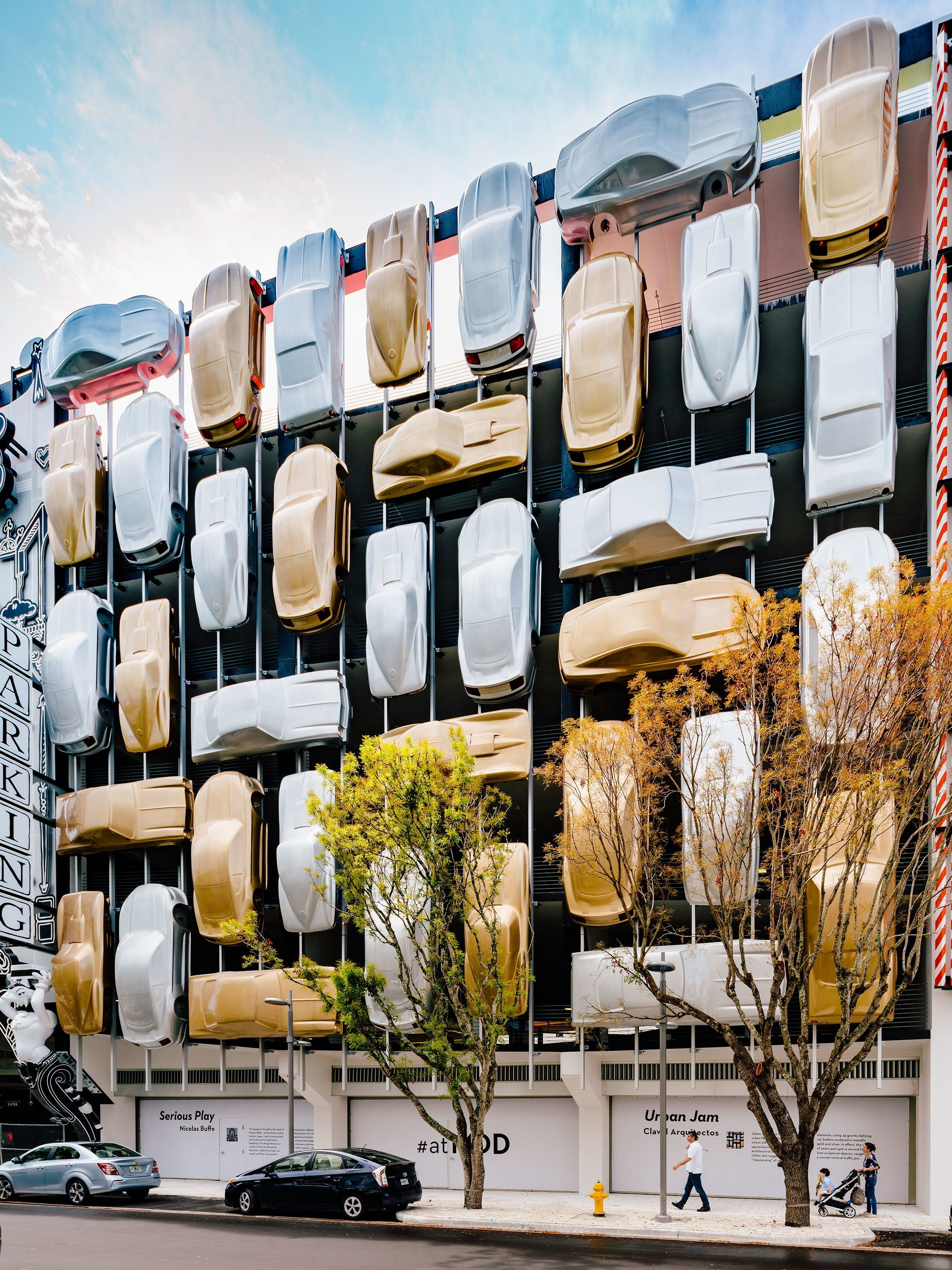 Can A Parking Garage Be A Work Of Art In Miami It Can Public Art Installation Art Miami Design