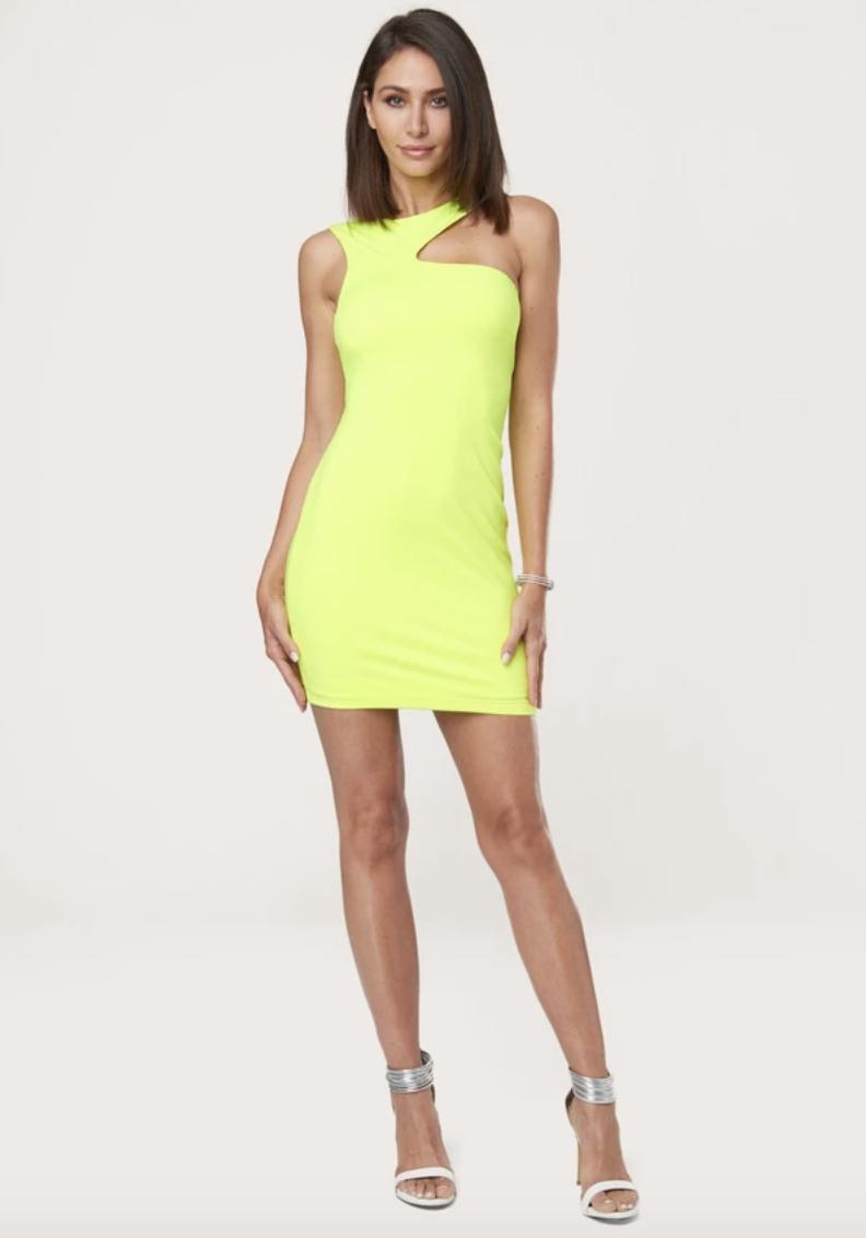Ne Shoulder Bodycon Dress Stretchy Bodycon Dress Bodycon Dress Dresses [ 1132 x 792 Pixel ]