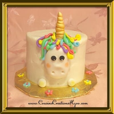unicorn smash cake cousin s creations birthday cakes for gals