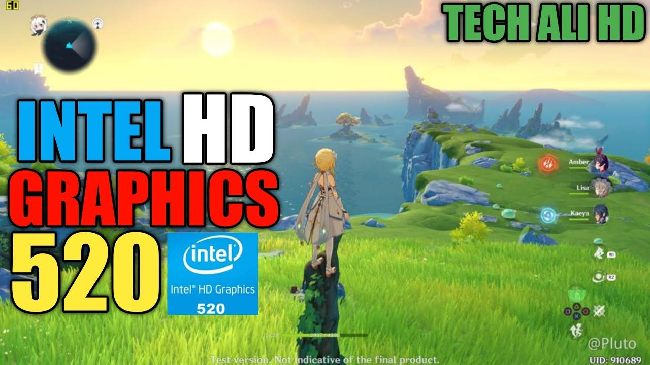 Genshin Impact Pc Intel Hd Graphics 520 Gameplay Testing Techalihd In 2020 Graphic Best Android Games Gameplay